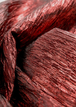 Crepe Fabric Wine 22in