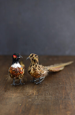 Artificial Pheasants (Set of 2)