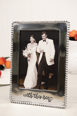 With This Ring 5x7 Photo Frame