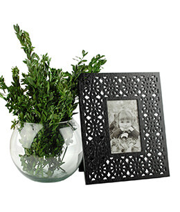 Picture Frame Black 4x6in