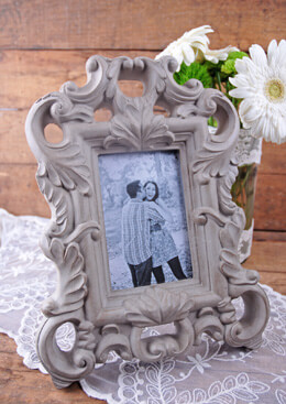 Shabby Chic Picture Frame Gray 4