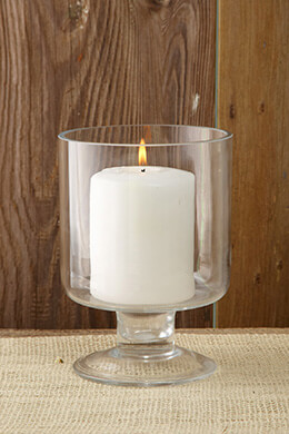 Pillar Candle Holder 6.5in