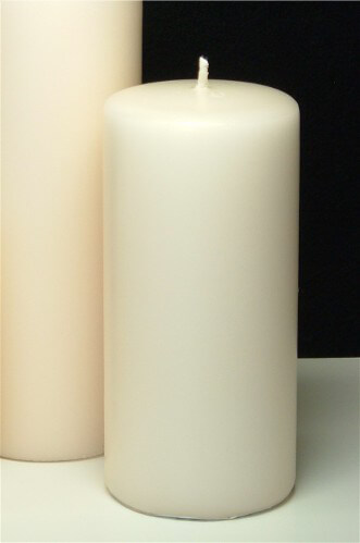 Pillar Candles Ivory Large