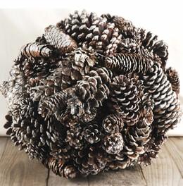 "Pine Cones 14"" Ball"