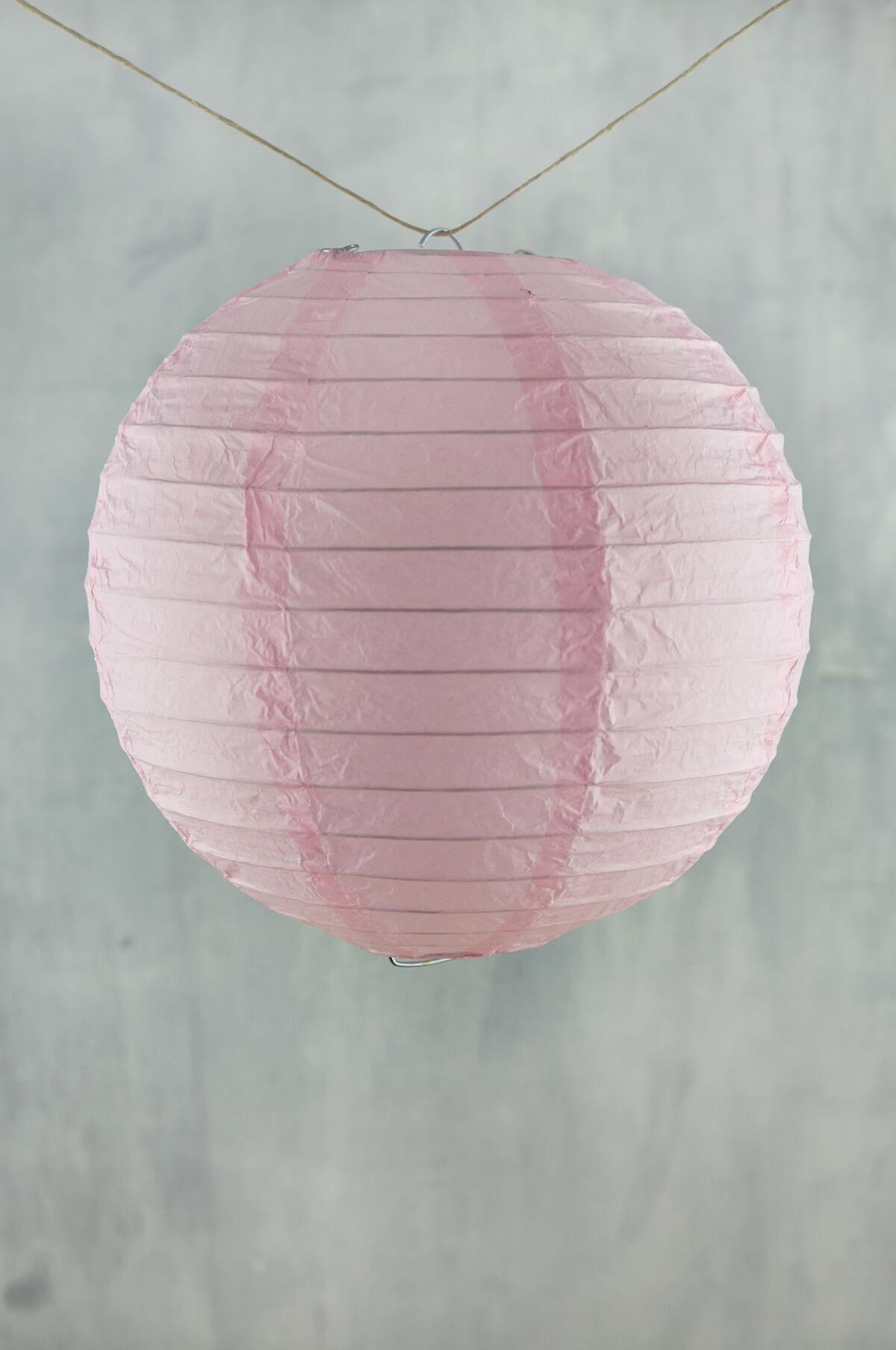 """8"""" Paper Lanterns PINK  (PACK of 10)"""