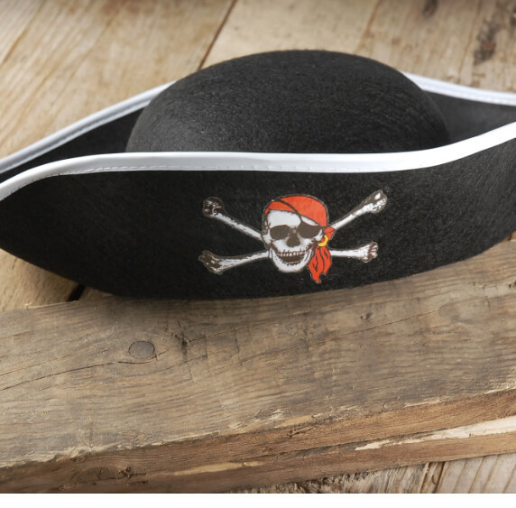 Pirate Hats Jolly Roger Pirate Hat
