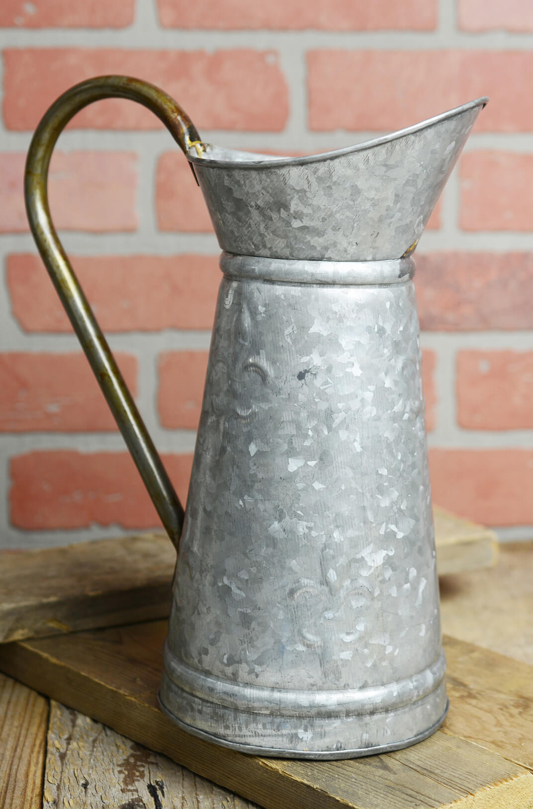 Galvanized Metal 12 Inch Watering Can