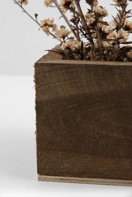 Rustic Barnwood Planter Box 4in