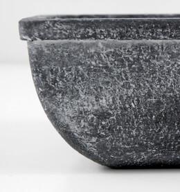 "Planters Pots Grey 11"""