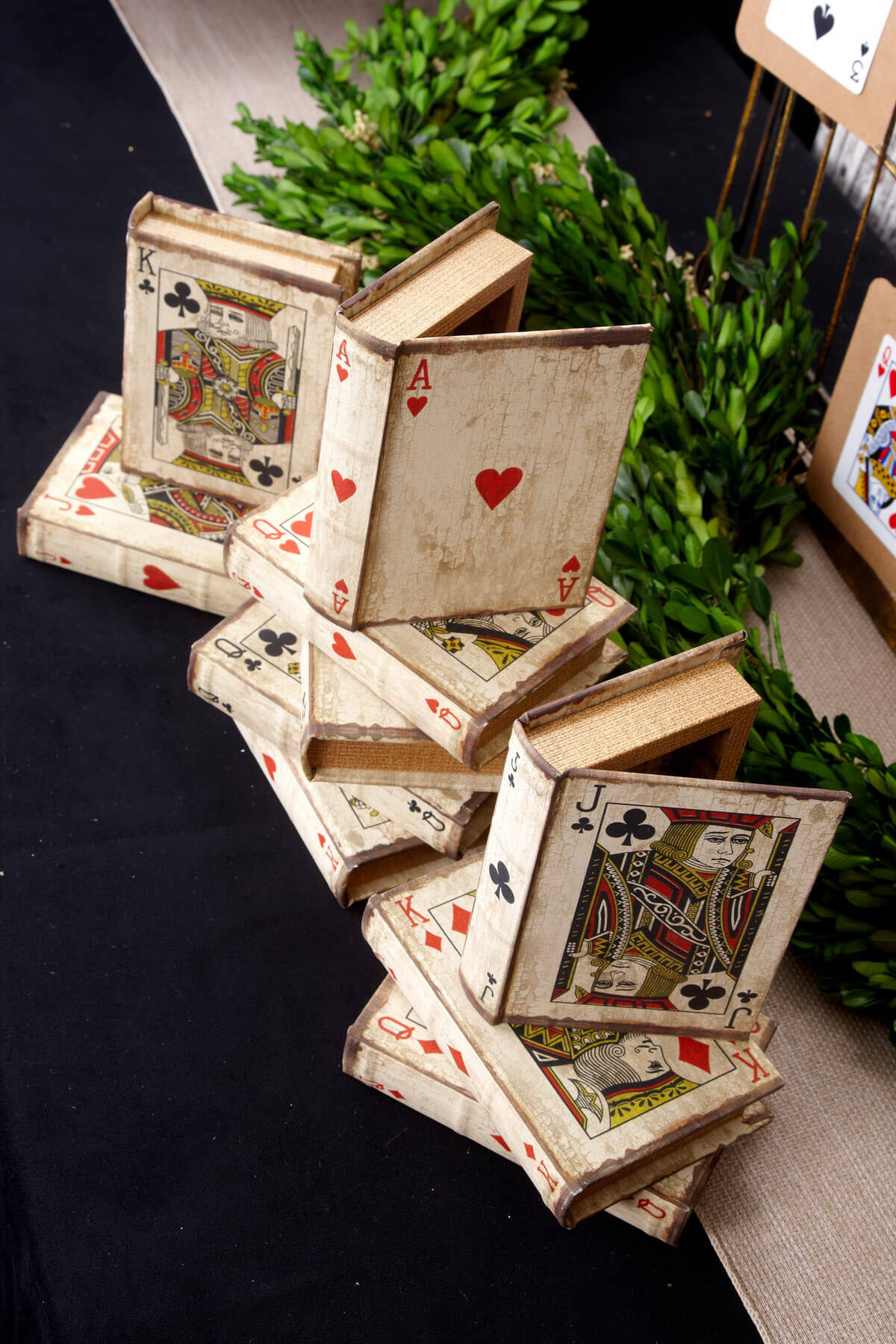 Playing Card Book Boxes