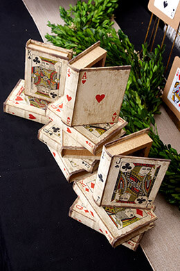 Playing Card Book Boxes (Set of 16)