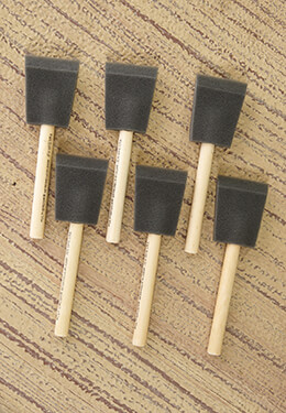 Poly Foam Brushes 2in (Set of 6)