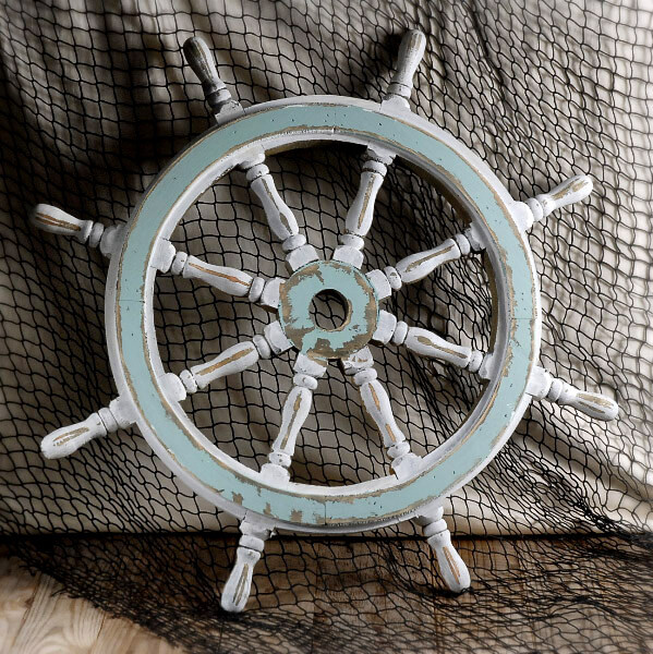 Nautical Wheel Decor: Ship Wheel Decor