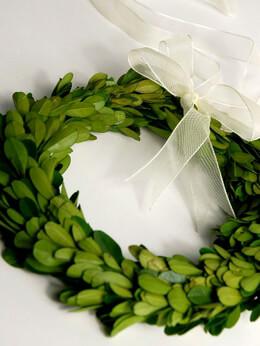 Boxwood Wreath 8in