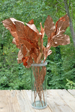 Preserved Salal Tips Copper