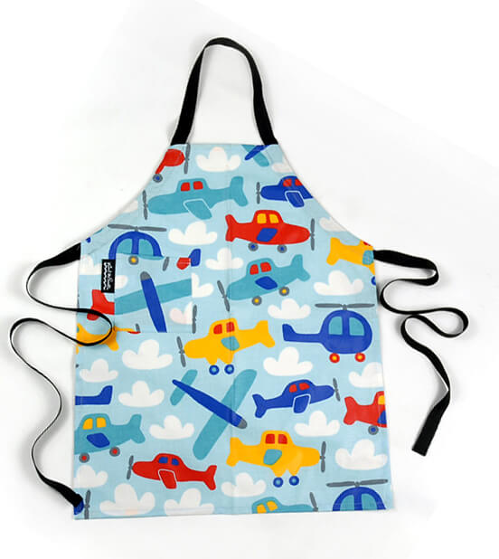 Propeller Apron Mimi the Sardine (formaldehyde free) fits 2 to 6 years