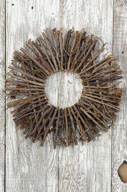 "16"" Natural Twig Wreath"