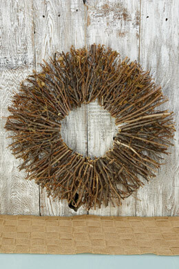 Twig Wreath  24in