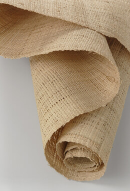 "Raffia Fabric (coarser weave) 46"" x 8'"