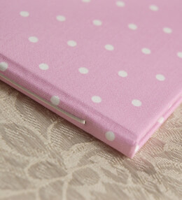 Baby Shower Guest Book Pink Dot