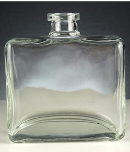 Rectangle Matic Glass Bottle