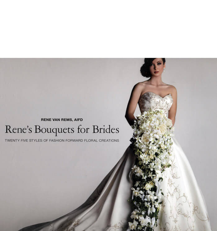 Renes Bouquets - A Guide to Euro-Style Hand-Tied Bouquets by Rene van Rems (Hardcover 1st Edition)