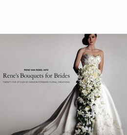 Ren�'s Bouquets - A Guide to Euro-Style Hand-Tied Bouquets by Ren� van Rems (Hardcover 1st Edition)