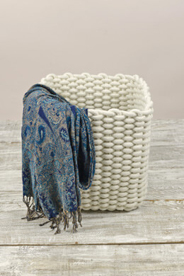 3 Natural Cotton Rope Baskets