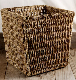 Rope Basket 9.5in