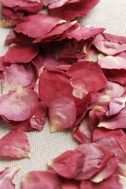 Soft Preserved Hot & Spicy Red & Pink Rose Petals (5 Cups)