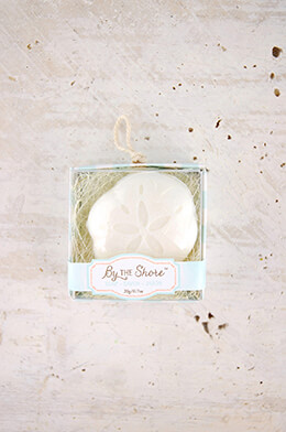 "12 Kate Aspen ""By the Shore"" Sand Dollar Soap Wedding Favors"