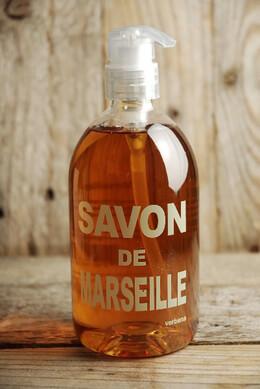 Savon de Marseille Liquid Soap Pump Bottle Verbena 500 ml