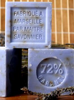 Savon de Marseille (Marseille Soap) Pure Lavender 300 gram