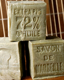 Savon de Marseille Olive Oil Soap (Original) 400 gram  Unscented All Natural