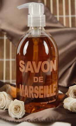 Savon de Marseille Orange Blossom 500ml Liquid Soap Pump