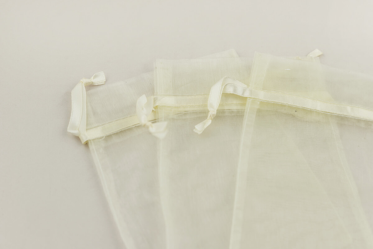 Organza Favor Bags Sheer 5x6.5 (Pack of 12)