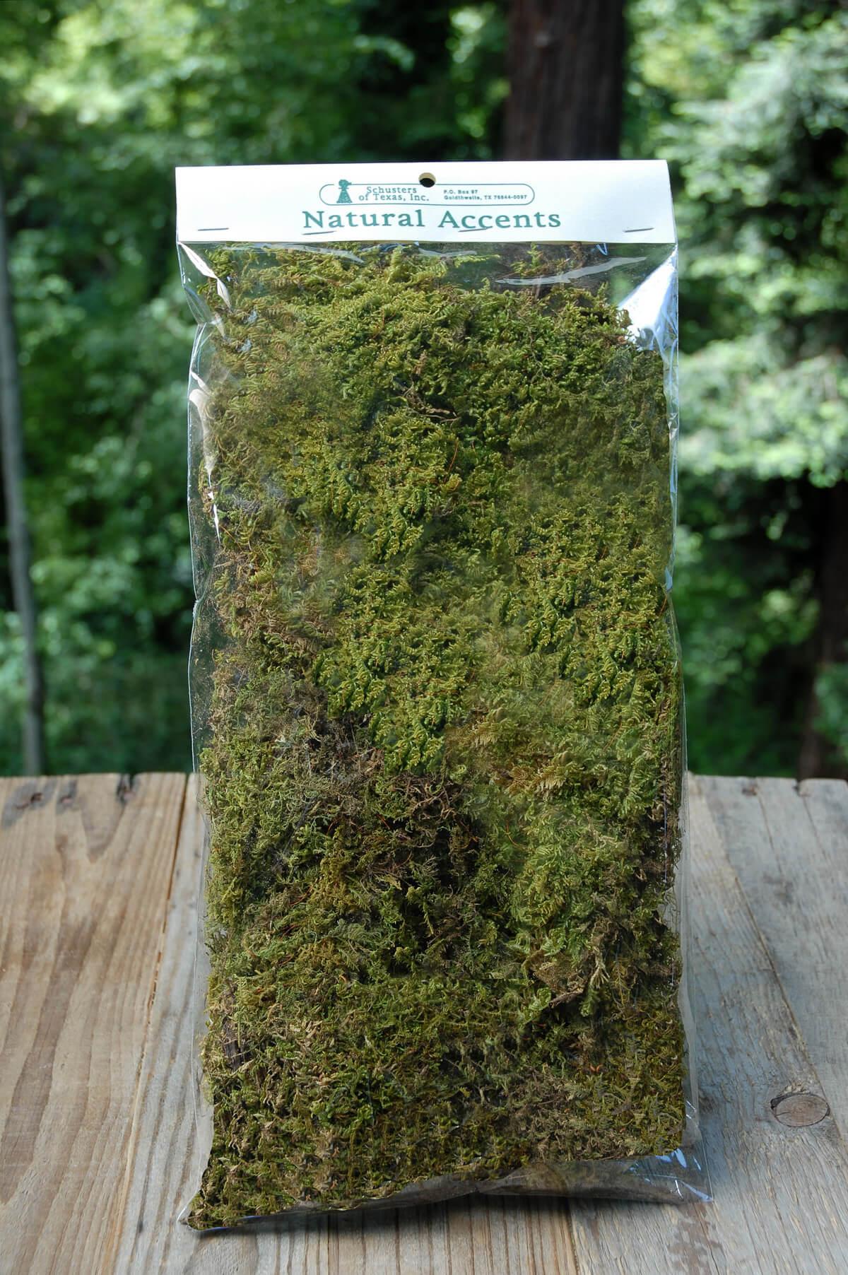 Natural Sheet Moss 2oz Bag