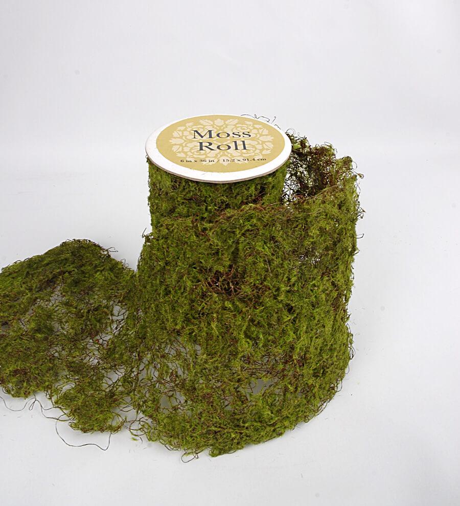 Sheet Moss Roll Artificial 6 Width X 36in