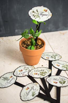 Herb Garden Stake Set