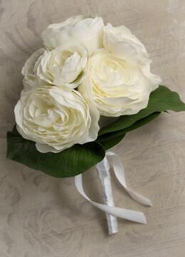 """Silk Flower Bouquets Nosegay 8"""" x 6"""""""