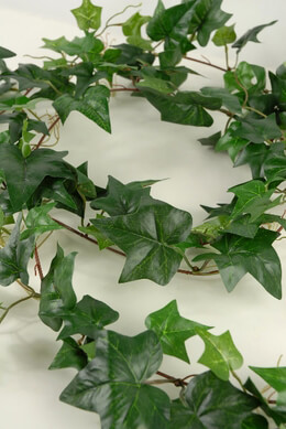 Silk Ivy Garlands 6' Green