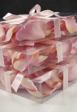 Silk Rose Petals Two Tone | 60 Petals