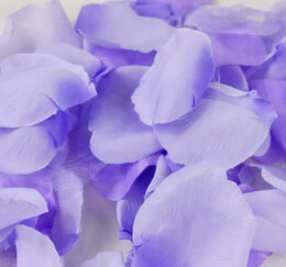 Silk Rose Petals Purple Two Tone | 100 Petals