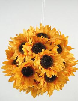 """Silk Sunflower 7"""" Balls"""