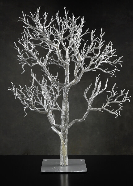 "Wedding Trees, 32"" Silver Tree, Event Decor"