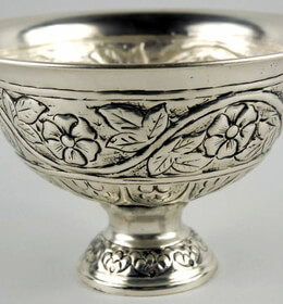 Silver Plated Floating Candle Bowl
