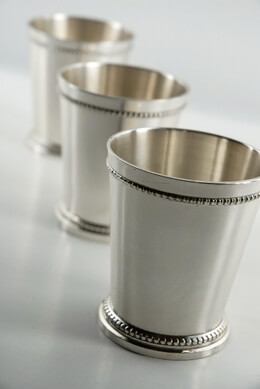 Silver Plated Mint Julep Cups