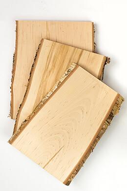 Birch Wood Planks 12in x 8-11 Wide
