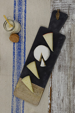 Slate Wood Cheese Board