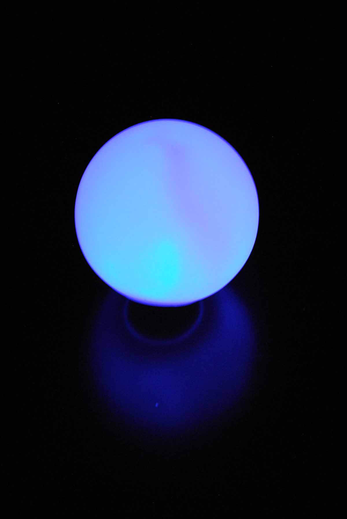 "LED Small Glowing Orbs 3"" with Stakes"